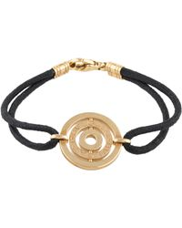bvlgari 18k astrale cord bracelet yellow lyst