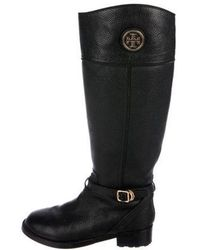Tory Burch - Leather Knee-high Boots - Lyst