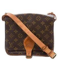 Louis Vuitton - Monogram Cartouchière Mm Brown - Lyst