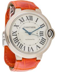 Cartier - Ballon Bleu De Watch White - Lyst