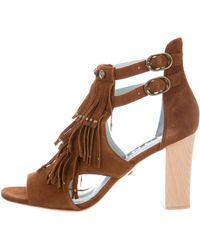 DANNIJO - Quin Fringe Sandals W/ Tags - Lyst