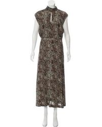 Zimmermann - Printed Maxi Dress - Lyst