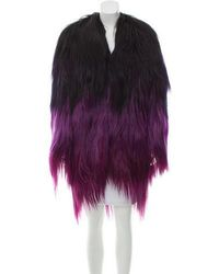 Tom Ford - Ombré Goat Hair Coat - Lyst