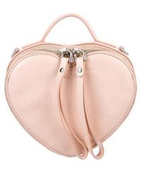 Marc Jacobs - Heart To Crossbody Bag Pink - Lyst