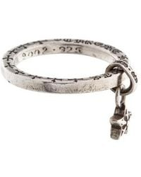 Chrome Hearts - Five Point Star Stack Ring Silver - Lyst