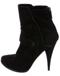 Givenchy - Suede Pointed-toe Ankle Boots - Lyst