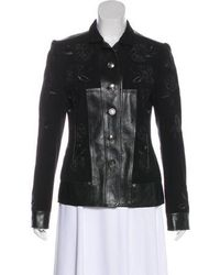 Dior - Embroidered Wool Jacket - Lyst