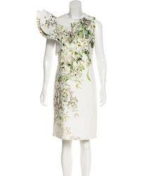 Silvia Tcherassi - Structured Knee-length Dress Multicolor - Lyst