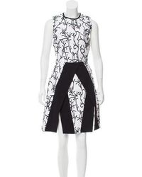 Tanya Taylor - Steffi Embroidered Dress White - Lyst