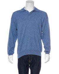 Loro Piana - Cashmere Polo Sweater - Lyst