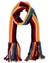 Marc Jacobs - Multicolored Fringed Scarf - Lyst