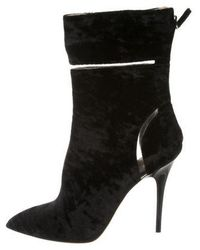 Monique Lhuillier - Pointed-toe Ankle Boots - Lyst