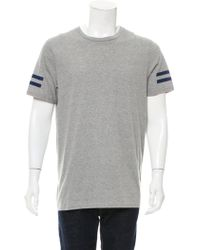 Dior Homme - Crew Neck Striped T-shirt W/ Tags Grey - Lyst