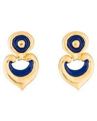Kenneth Jay Lane - Drop Earrings Gold - Lyst
