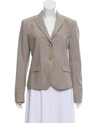Theyskens' Theory - Wool Notch-lapel Blazer W/ Tags Grey - Lyst