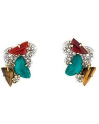 Alexis Bittar - Roxbury Cluster Clip-on Earrings Gold - Lyst