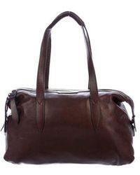 Dries Van Noten - Leather Shoulder Bag Brass - Lyst