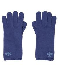 Tory Burch - Logo Tech Gloves W/ Tags - Lyst
