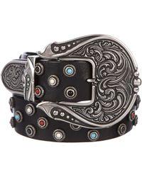 Dodo Bar Or - Embellished Radford Belt Black - Lyst