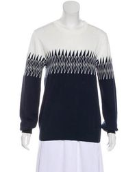 Band of Outsiders - Long Sleeve Knit Sweater W/ Tags - Lyst