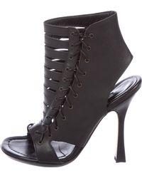 Manolo Blahnik - Leather Thong Sandals - Lyst