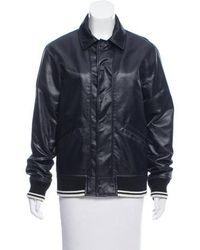 Ports 1961 - Patchwork Bomber Jacket W/ Tags Navy - Lyst