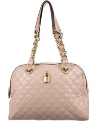 Marc Jacobs - Karlie Quilted Leather Bag Pink - Lyst