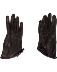 Emilio Pucci - Leather Bow Gloves - Lyst