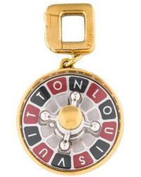 Louis Vuitton - Roulette Wheel Charm Yellow - Lyst