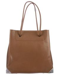 Alexander Wang - Leather Prisma Tote Brown - Lyst