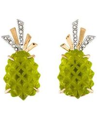 Alexis Bittar - Pineapple Clip-on Earrings Gold - Lyst