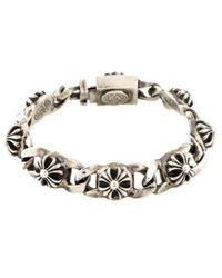 Chrome Hearts - Maltese Cross Link Bracelet Silver - Lyst