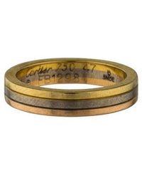 Cartier - Wedding Band Yellow - Lyst