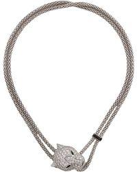 Cartier - Panthère De Necklace White - Lyst