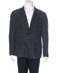 Rag & Bone - Cotton Sport Coat Navy - Lyst