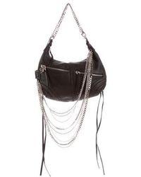Sonia Rykiel - Crystal-embellished Shoulder Bag Black - Lyst