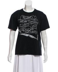 Public School - Printed Short Sleeve Top - Lyst