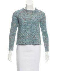Raquel Allegra - Long Sleeve Knit Sweater - Lyst