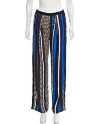 Clover Canyon - Printed Wide-leg Pants W/ Tags - Lyst