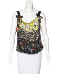 Christian Lacroix - Silk Printed Top - Lyst