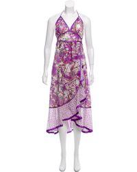 Marc Jacobs - Printed Maxi Dress W/ Tags - Lyst