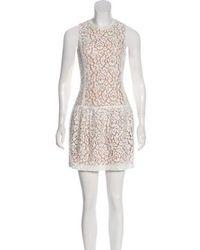 Michael Kors - Lace A-line Dress - Lyst