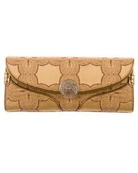 Tod's - Embroidered Satin Clutch Multicolor - Lyst