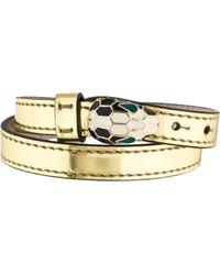 bvlgari serpenti forever bracelet w tags gold lyst