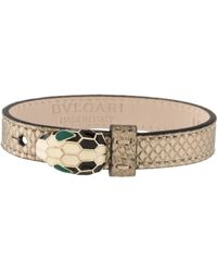bvlgari serpenti forever bracelet gold lyst