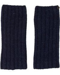 Chanel - Rib Knit Leg Warmers - Lyst