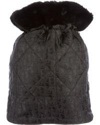 Dior | Diorissimo Drawstring Backpack Black | Lyst
