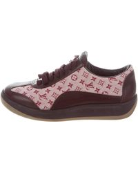 Louis Vuitton | Idylle Low-top Sneakers Burgundy | Lyst