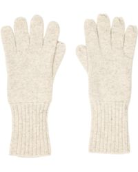 Marc Jacobs | Cashmere Rib Knit Gloves Cream | Lyst