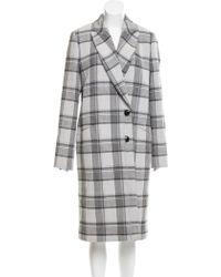 Plaid Coats   Women's Designer Plaid Coats   Lyst